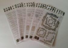 NIP EZ Rub-On TransfersWith Love Scrapbook Art Craft