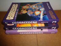 Geobreeders vol. 1 2 3 by Akihiro Ito Manga Graphic Novel Book Lot in English