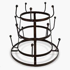 Sorbus Mug Holder Tree Organizer/Drying Rack Stand (BROWN