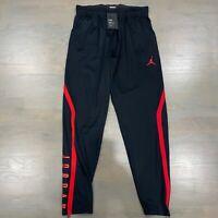 Nike Air Jordan Alpha Dry Joggers Tapered Dri-Fit Pants Men's 889711-011 Black