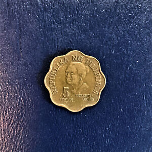 1980 Philippines Pilipinas 5 Five Sentimos Melchora Aquino