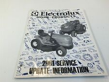 Electrolux Home Products 2001 Service Update Information