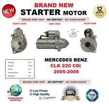 FOR MERCEDES BENZ CLK 220 CDi 2005-2006 STARTER MOTOR 2.0kW 11-Teeth BRAND NEW
