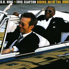 B.B. KING/ERIC CLAPTON RIDING WITH THE KING CD NEW