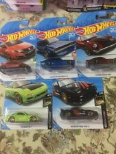 2018 HOT WHEELS 95 Mazda RX-7 16 Honda Civic Type R Custom Datsun Skyline GT-R