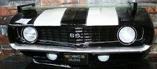 3D Regal: Frontpartie schwarz/weiss GM Chevrolet CAMARO  SS 1969 mit Lichtern
