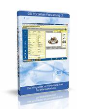 GS Porzellan-Verwaltung 2 - Software Programm zur Verwaltung Ihrer Sammlung
