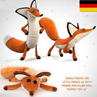 The Little Prince And fox Der kleine Prinz Fuchs Stofftiere Plüsch Puppe Gabe DE