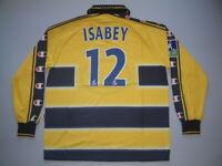 ISABEY SOCHAUX FC HOME 2003-2004 MATCH WORN LNF ML-LS