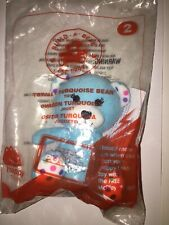 Build-A-Bear TOTALLY TURQUOISE TEDDY McDonald's Happy Meal Toy STOCKING STUFFER