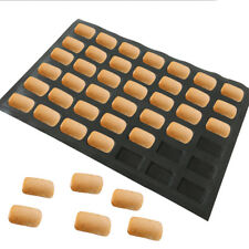 Silicone Eclair Bakery Sheets Non Stick Baking Molds English Bread Baking Tray