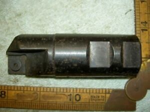 "Valenite 32mm Indexable milling cutter 8T9 S-VMSP-123R-90CC 1 1/4"" weldon shank"