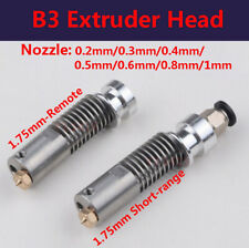 B3 Extruder Head All Metal Stainless 175mm Remote Proximity Nozzle 3d Printer