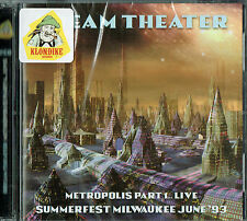 Dream Theater - Metropolis, Pt.1(Live, Milwaukee June '93/ 2cds / New & sealed)