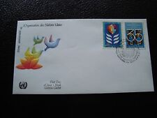 NATIONS-UNIES (new-york) - enveloppe 1er jour 26/6/1981 (B3) united nations