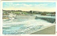 Lewiston ME The Libby-Dingley's Dam 1919