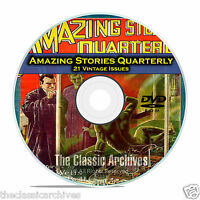 Amazing Stories Quarterly, 21 Vintage Pulp Magazines, Golden Age Fiction DVD C30