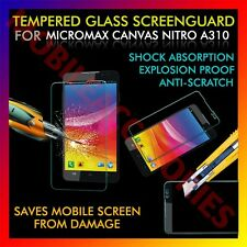 ACM-TEMPERED GLASS SCREENGUARD for MICROMAX CANVAS NITRO A310 SCRATCH PROTECTOR