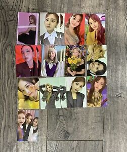 KPOP TWICE Eyes Wide Open Photocards