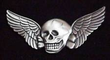 "Death Wings Military Pewter 2"" Lapel / Hat Pin"