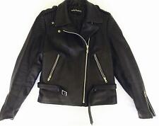 Beautiful Genuine Women's Harley Davidson Black Leather Jacket Size 38 10/12