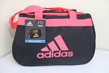 ADIDAS Diablo Small Duffel Women Gym bag luggage Black/Infrared fits in locker