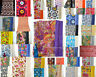 Indian Handmade Pure Cotton Kantha Vintage Twin Blanket Bedspread Quilt Throw
