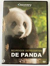 DVD: Bedreigde diersoorten, De panda... Discovery Channel... DUTCH