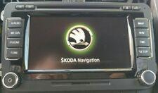 NEU SKODA COLUMBUS RNS 510 DAB Navigation HDD SSD 3T0035686L antenne GPS TV-Free