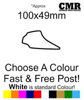 Knockhill Sticker Race track sticker car decal