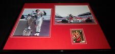Dan Wheldon Signed Framed 16x20 Photo Set JSA Indy 500