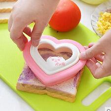 Creative Heart Shape Sandwich Bread Toast Maker Mold Mould Cutter DIY Tool Cute