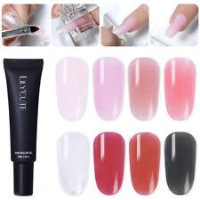 LILYCUTE 20ml Quick Builder UV Gel Finger Nail Extension Gel Polish Varnish