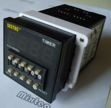 Electrical AC100-240V DIN Switch Kitchen Digital Timer Long Life OMRON Relay CE