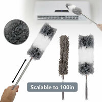 Washable Soft Microfiber Feather Brush Cleaning Tool Household Bendable Duster