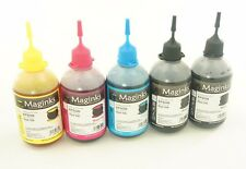 500ml Bulk refill ink for HP Canon Brother Dell Epson printer, Extra black