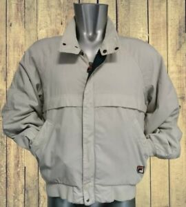 FILA Maglificio Bielllese SPA 1980s Padded jacket with  check lining.