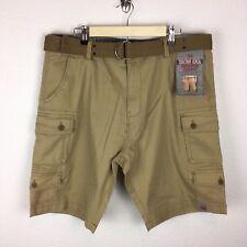 fde2aeccd0 Cargo Cotton Blend Brown Shorts for Men for sale | eBay