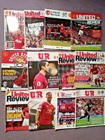 Manchester United Football Programmes Bundle From The last 10+ years v Everton