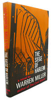 Warren Miller THE SIEGE OF HARLEM  1st Edition 1st Printing