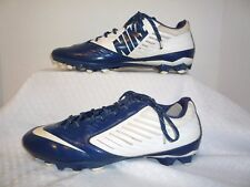 Nike Vapor Speed Low Men's Football Cleats Style 643152-114 Size 13 White Blue
