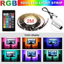 4pcs USB Powered RGB 5050 LED Strip Lighting for TV Computer Background Light