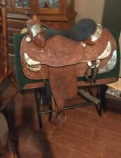 15 1/2� Tex Tan Show Saddle With Sterling Silver