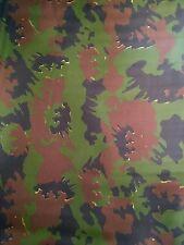 WOODLAND Camouflage Segeltuch Stoff Tarndruck Flecktarn NEU Meterware