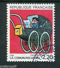 FRANCE 1988, timbre 2513, COMMUNICATION, BD LOB, oblitéré, COMICS, VF stamp