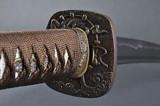 Fully Hand Forged Raijin Japanese Samurai Katana Sword #372