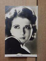 Film Weekly Film star postcard Sidney Fox postcard sized photo Original.