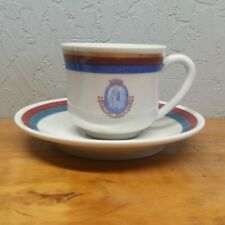 Rolling Rock Club Demitasse Cup & Saucer