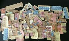 E GB POSTAGE DUES L.S.D. APPROX. 250 ON PAPER MIXED CONDITION