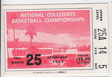 1972 NCAA FINAL FOUR NATIONAL CHAMPIONSHIP GAME TICKET UCLA BRUINS FLORIDA STATE
